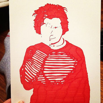 Ed Sheeran Pop Art by Courtneydrawings on Etsy