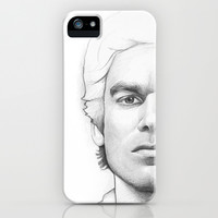 Dexter Morgan iPhone & iPod Case by Olechka
