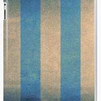 'Vintage striped deck chair cover' iPad Case/Skin by steveball