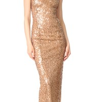 Sequin Racer Dress