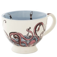 Disaster Designs Nautical Tenacious Tentacles Mug