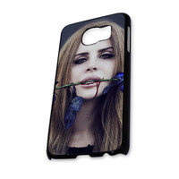 Lana Del Rey Blue Rose Samsung Galaxy S6 Case
