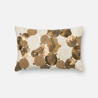Loloi Brown / Beige Decorative Throw Pillow (P0300)