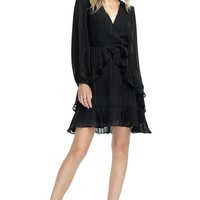Ruffle Tie Front Dress | ASTR The Label