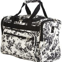 World Traveler Toile Collection Travel Duffle Bag
