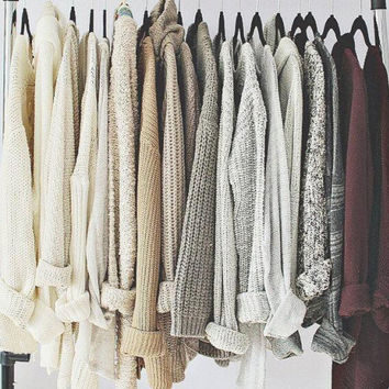 Oversized Mystery Sweaters: All Hipster Colors - All Grunge Patterns