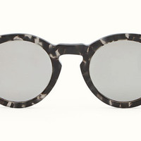 Fendi - Fendi Sun Fun 0214/S Black Havana Round Sunglasses