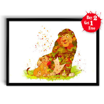 Best Lion King Wall Decor Products on Wanelo