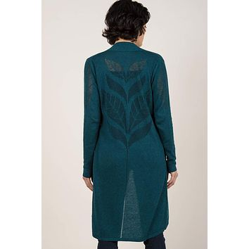 Organic Cotton Cardigan - Leaf