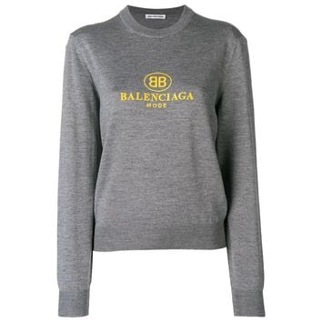 Grey Sweater by Balenciaga