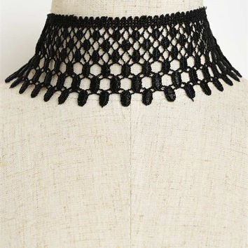 Lace Neck Choker