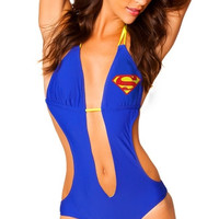 Superman Plunge Monokini