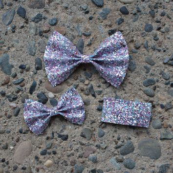Unicorn Tears Glitter Bows