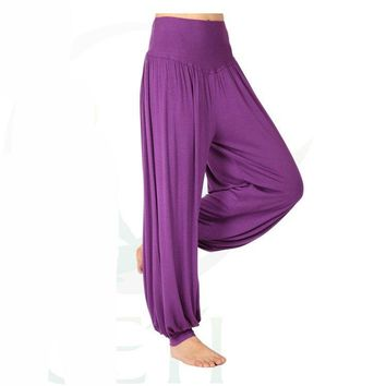 Abundant Super Comfortable Loose Fit Modal Cotton Yoga Harem Pants for Women