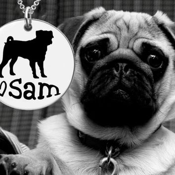 Pug Personalized Jewelry