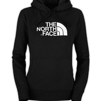 The North Face Womens Half Dome Hoodie Passion Pink Size Medium