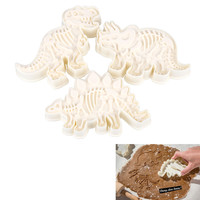 Dinosaur Shaped Cookie Cutters Mold Kitchenware Bakeware Decorative Tools