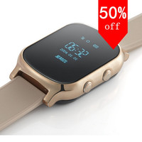 GPS Tracker Watch Mobile Phone for Kids Old Man with Best Touch SOS Function MP3 MP4 Smart Watch for Kids or Old Man Teh