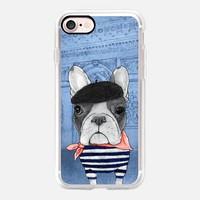 Frenchie with Arc de Triomphe; Paris. iPhone 7 Case by Barruf | Casetify