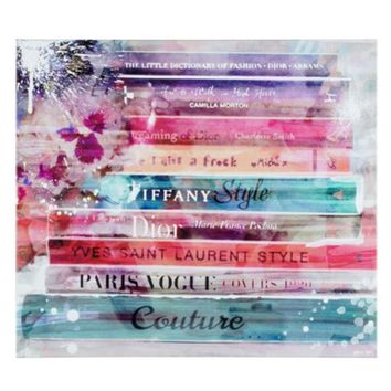Fashion Splash Library | Canvas | Art by Type | Art | Z Gallerie