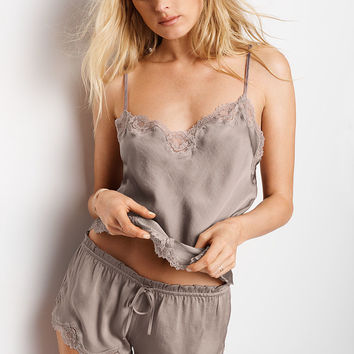 Satin & Lace Cami & Short Set - Dream Angels - Victoria's Secret