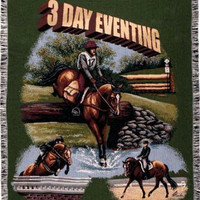 Throw Blanket - Equestrian Theme