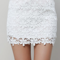 Crochet Lacy Skirt