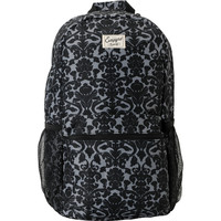 Empyre Girl Black Floral Roll Call Laptop Backpack
