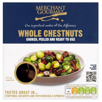 Merchant Gourmet Cooked & Peeled Chestnuts at Ocado