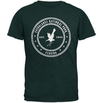Everglades National Park Forest Green Adult T-Shirt