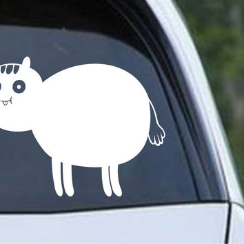 Adventure Time Poo Brain Horse Die Cut Vinyl Decal Sticker
