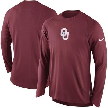 Oklahoma Sooners Nike Elite Shooter DRI-FIT Performance Top - Size XL & Lg - NWT