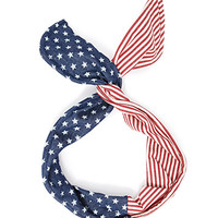 American Flag Wire Headwrap