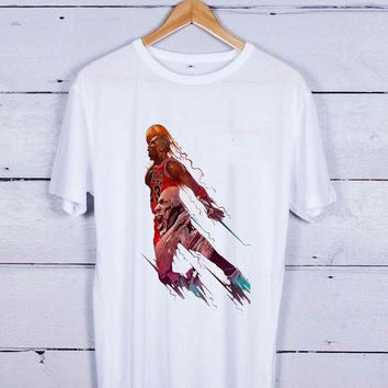 CREYUG7 Air Jordan Michael Art Tshirt T-shirt Tees Tee Men Women Unisex Adults