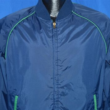 80s Jetre Reversible Windbreaker Jacket Medium