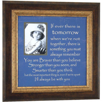 ALWAYS REMEMBER, You Are Braver, Winnie The Pooh, Personalized Picture Frames, Art, Personalized Signs, First Birthday, Baptism, 16 X 16