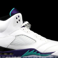 NIKE AIR JORDAN 5 RETRO V GRAPE 5s WHITE PURPLE EMERALD 2013 DS Sizes 8-13