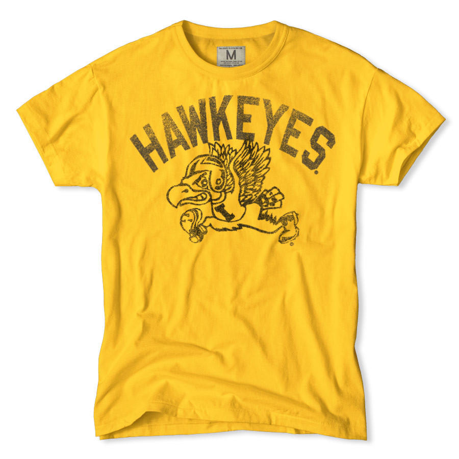 Iowa hawkeyes t shirt from tailgate clothing iowa hawkeyes for Iowa hawkeye t shirt