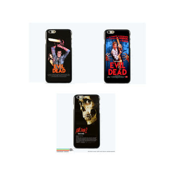 Evil Dead Movie Poster, Custom Phone Case for iPhone 4/4s, 5/5s, 6/6s, 6/6s+, iPod Touch 5