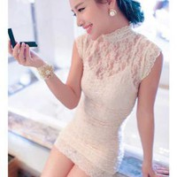 HEGO Ladies Lace Dress  YE025B