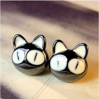 Big Eyes Cats Earrings
