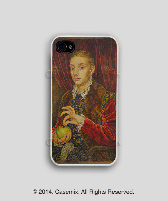The Boy With Apple - Budapest Hotel Iphone Case Budapest Hotel Iphone 4 Case  Wes Ander 62bf278045