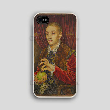 The Boy With Apple - Budapest Hotel Iphone Case Budapest Hotel Iphone 4 Case Wes Anderson Iphone Case Iphone 4 Case Iphone 5 Case Iphone 5s