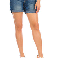 Women Rolled Cuff Shorts