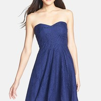 Donna Morgan 'Avery' Lace Fit & Flare Dress