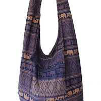 Thai Top Zip Handmade,women Bag,crossbody Bags, elephant Bag,shoulder Bag,cotton Bag,thai Bag, messenger Bag,diaper Bag,handbags,thaibag