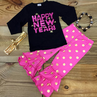 Hot Pink Happy New Year Outfit