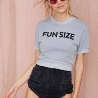 BARBER Fun Size Crop Sweatshirt