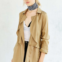 Kimchi Blue Midnight Mac Trench Coat - Urban Outfitters