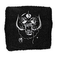 Motorhead Men's Warpig Athletic Wristband Black